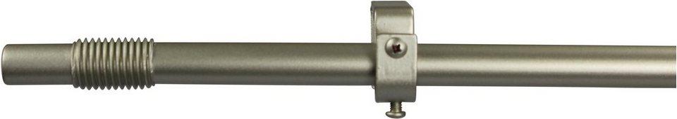 Gardinenstange 16 mm Skrufa, ohne Ringe, nach Maß in chrom matt