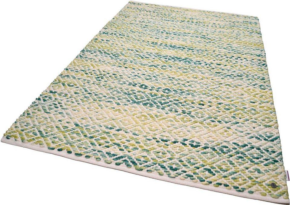 Teppich wolle  Teppich »Diamond«, Tom Tailor, rechteckig, Höhe 8 mm, Wolle online ...