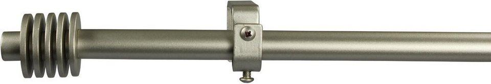 Gardinenstange 16 mm Space, ohne Ringe, nach Maß in chrom matt