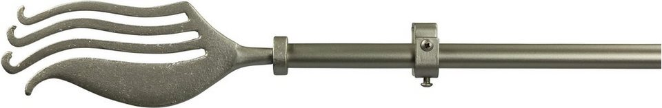 Gardinenstange 16 mm Cantus, ohne Ringe, nach Maß in chrom matt