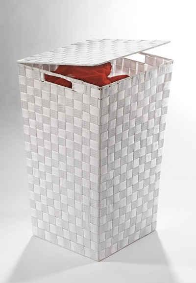 Home Affaire Wäschebehälter Aus Nylon Und Metall