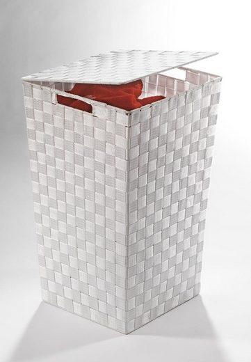 Home affaire Wäschekorb, aus Nylon und Metall