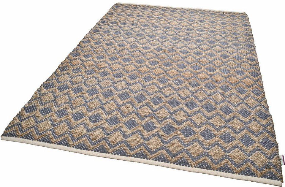 teppich geometric tom tailor rechteckig h he 7 mm. Black Bedroom Furniture Sets. Home Design Ideas