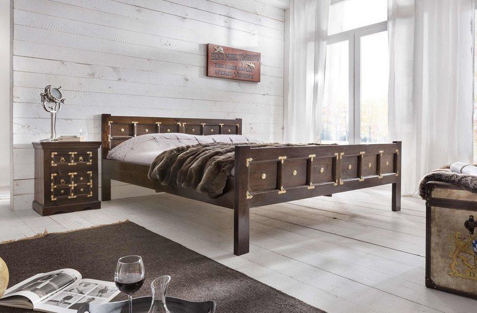 SIT Bett »Vasco«, 180/200 cm in braun