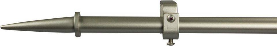 Gardinenstange 16 mm Virsus, ohne Ringe, nach Maß in chrom matt