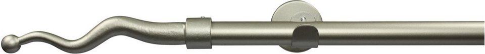 Gardinenstange nach Maß Ø 20 mm, Garesa, »Boto«, ohne Ringe in chrom matt