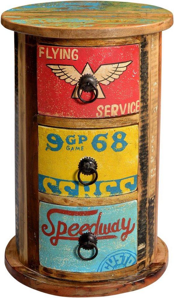 SIT Kommode »Speedway«, Höhe 46 cm in bunt