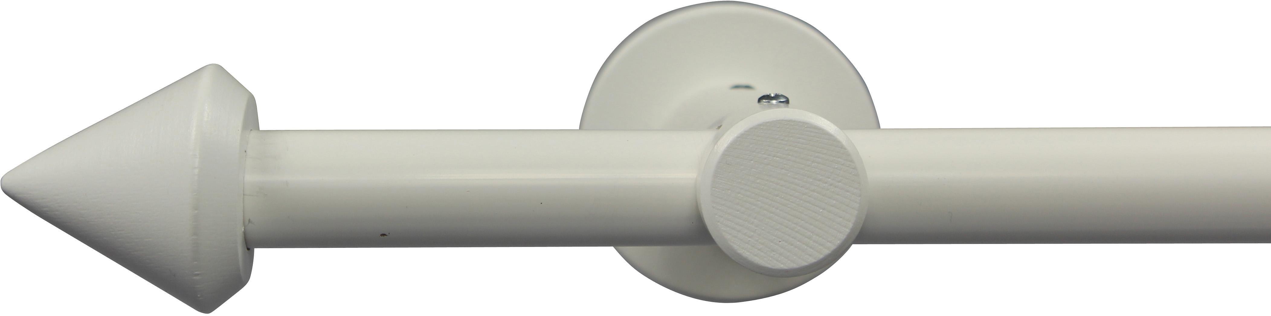Gardinenstange nach Maß Ø 20 mm, Garesa, »Spitze«, ohne Ringe, mit geschlossenem Träger | Heimtextilien > Gardinen und Vorhänge > Gardinenstangen | GARESA