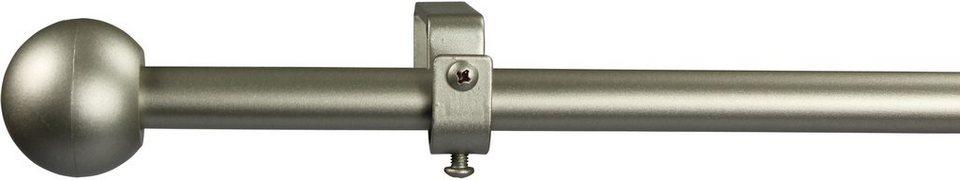 Gardinenstange 16 mm Bolti, ohne Ringe, nach Maß in chrom matt