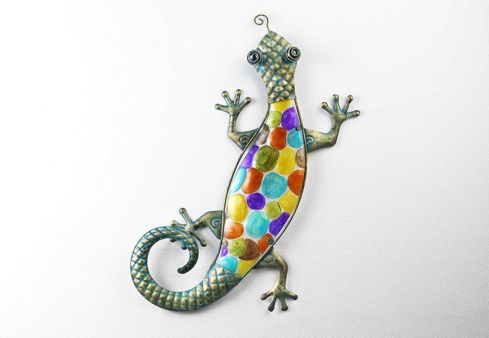 Home affaire Deko-Gecko in blau