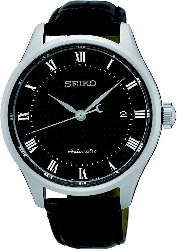 Seiko Automatikuhr, »SRP769K2« in schwarz