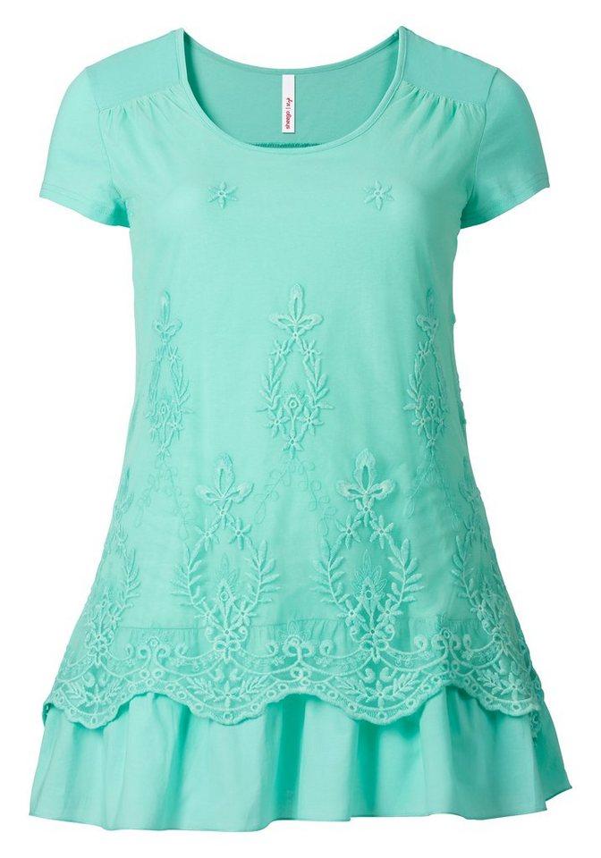 sheego Style Longshirt in mint