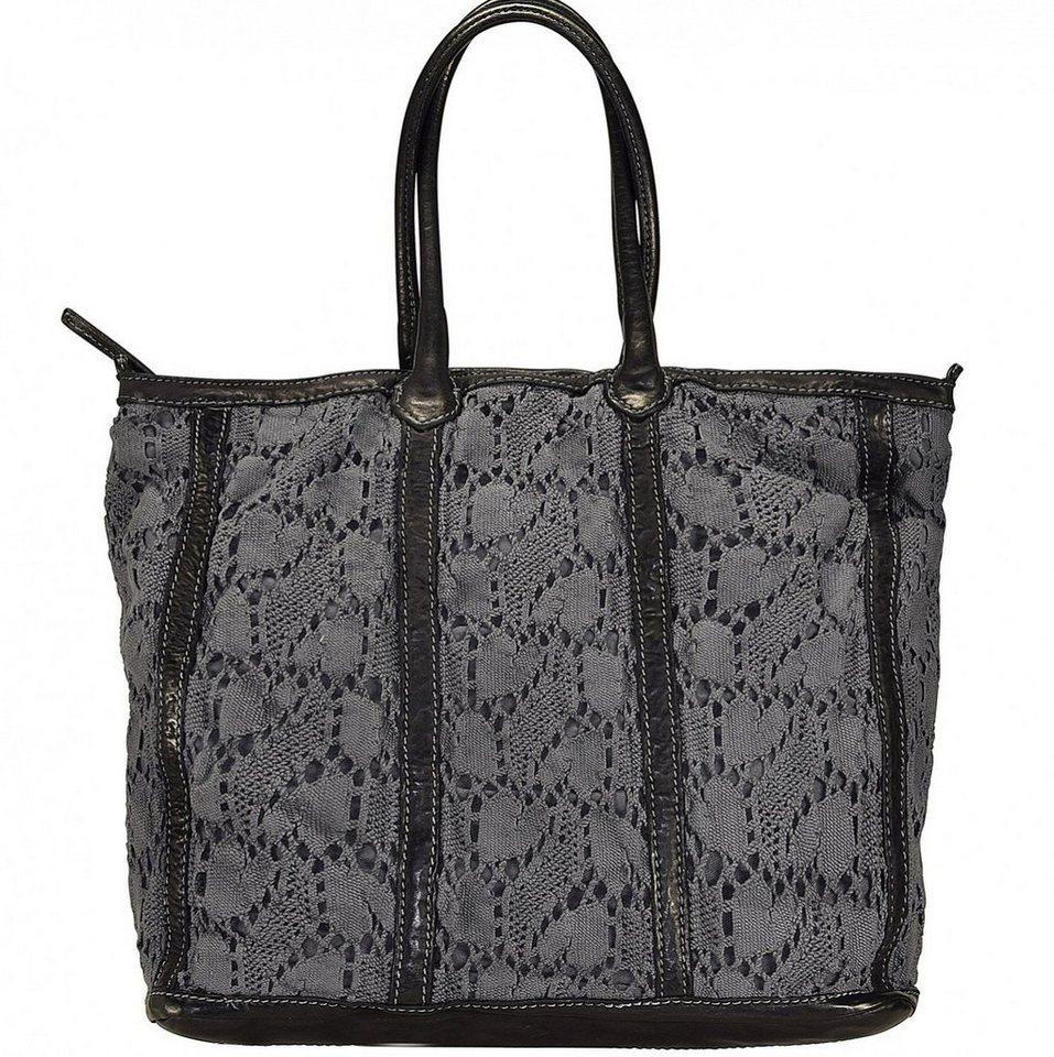 Caterina Lucchi Shopper Tasche Leder 34 cm in black