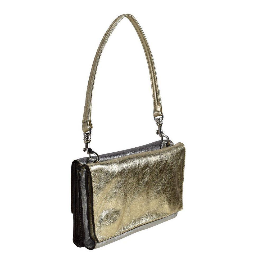 Caterina Lucchi Mini Bag Schultertasche Leder 24 cm in glamour