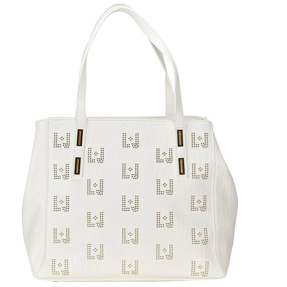 Liu Jo Shopping Iraclia Log Shopper Tasche 33 cm in white