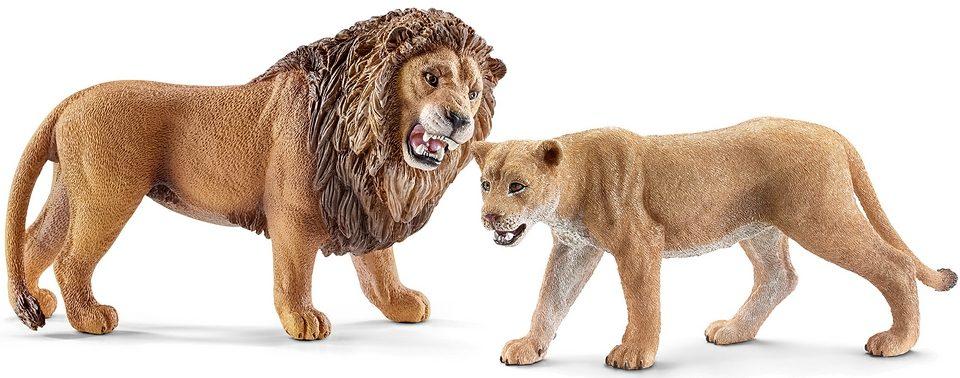 Schleich® Spielfiguren-Set 2-tlg., »World of Nature Wild Life - Löwen«