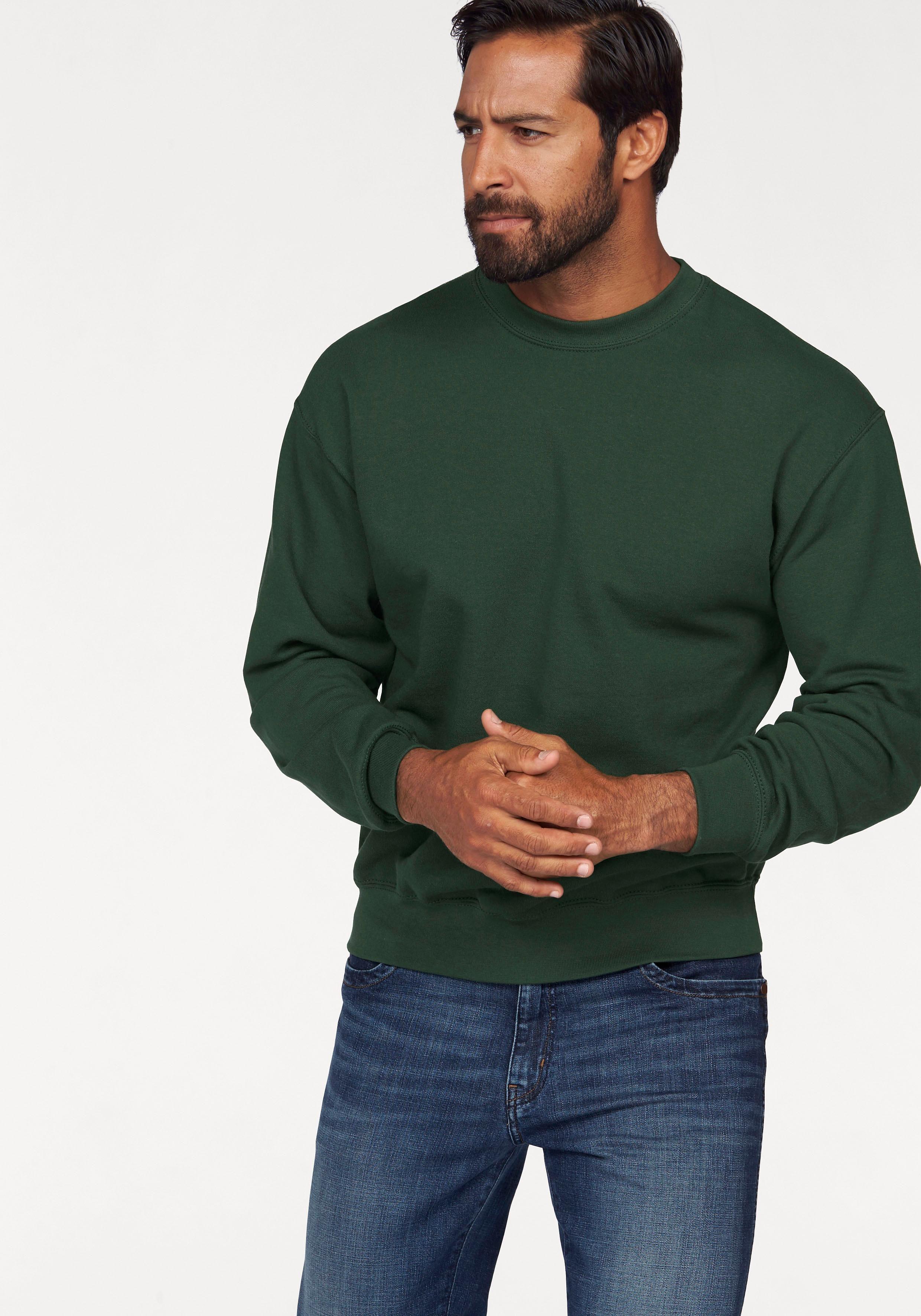 Fruit of the Loom Sweatshirt, Cooler Basic Style mit angerauter Innenseite online kaufen | OTTO