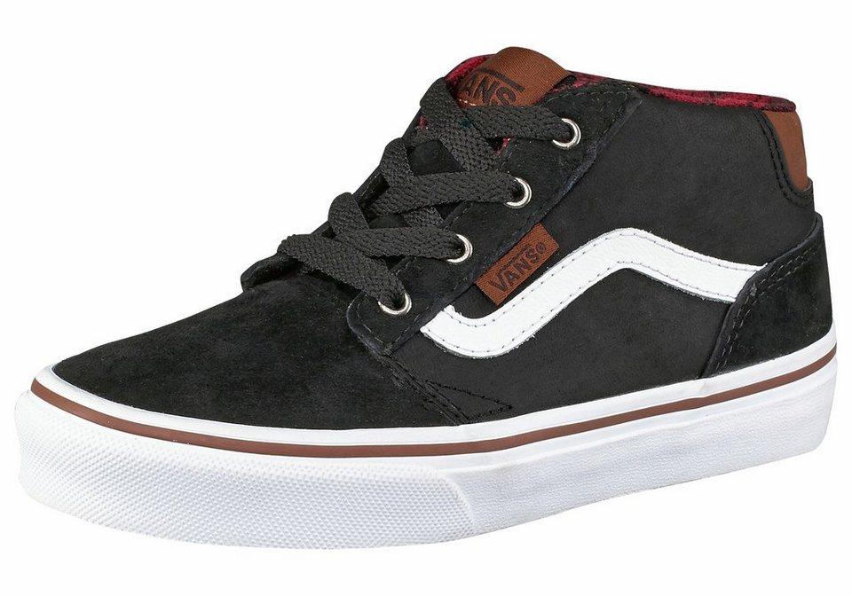 Vans Sneaker »Chapman Mid« in schwarz-weiß