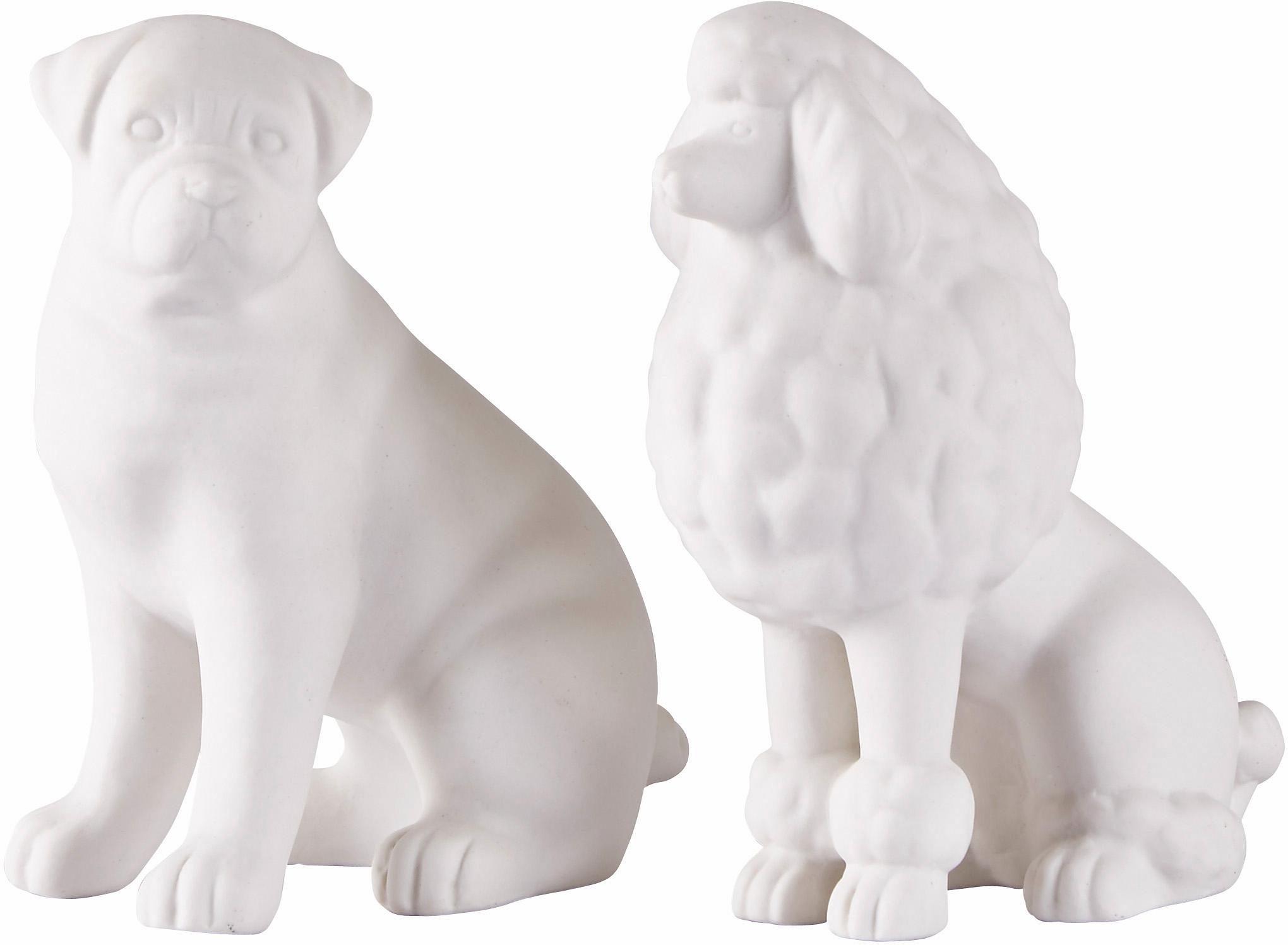 Home affaire Dekofiguren »Hund« (2-tlg.)