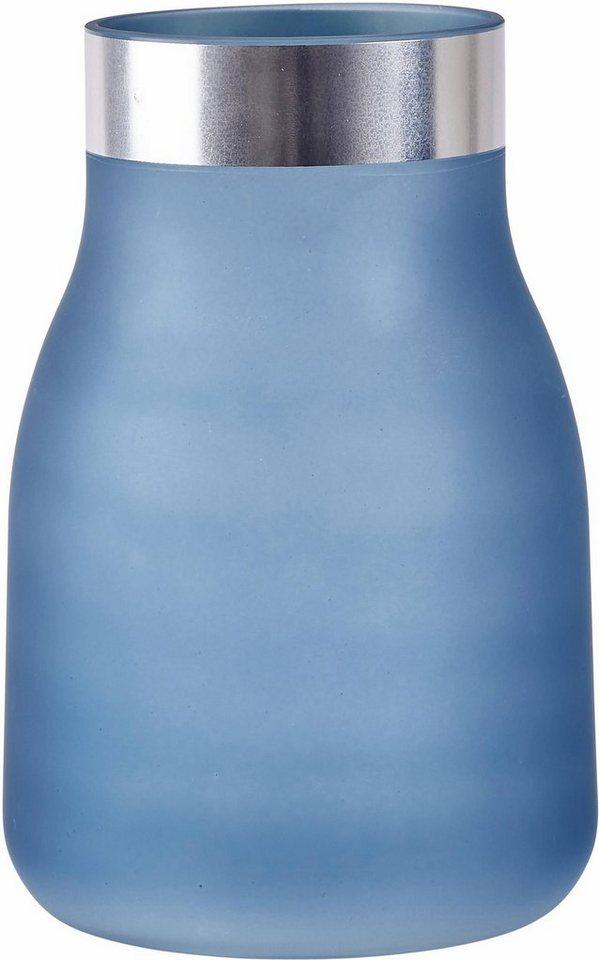 Home affaire Vase in Blau 15,5/24 cm