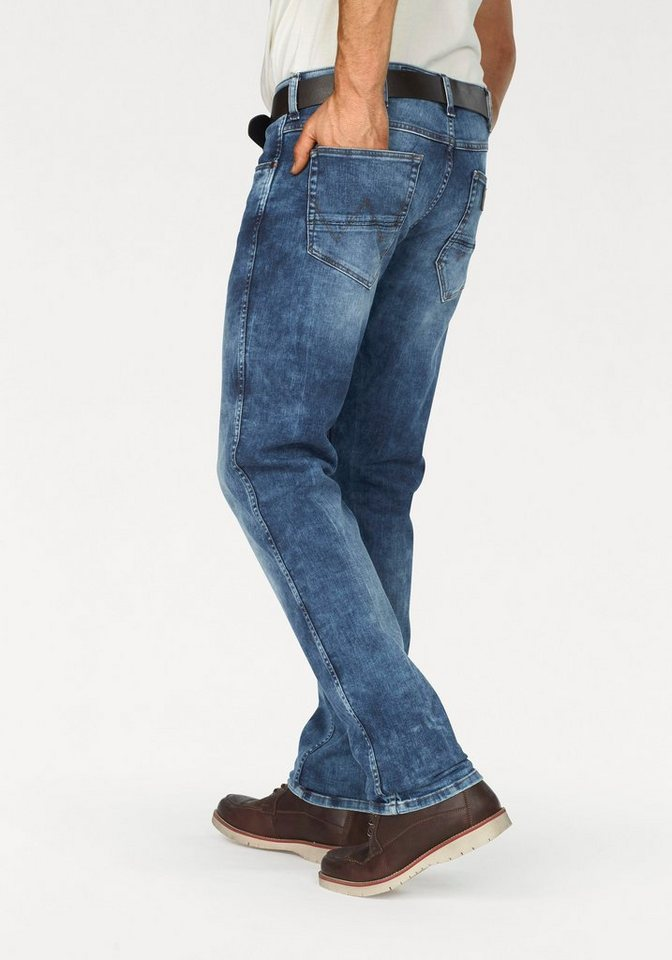 Wrangler Stretch-Jeans »Greensboro« Regular Straight in in the zone