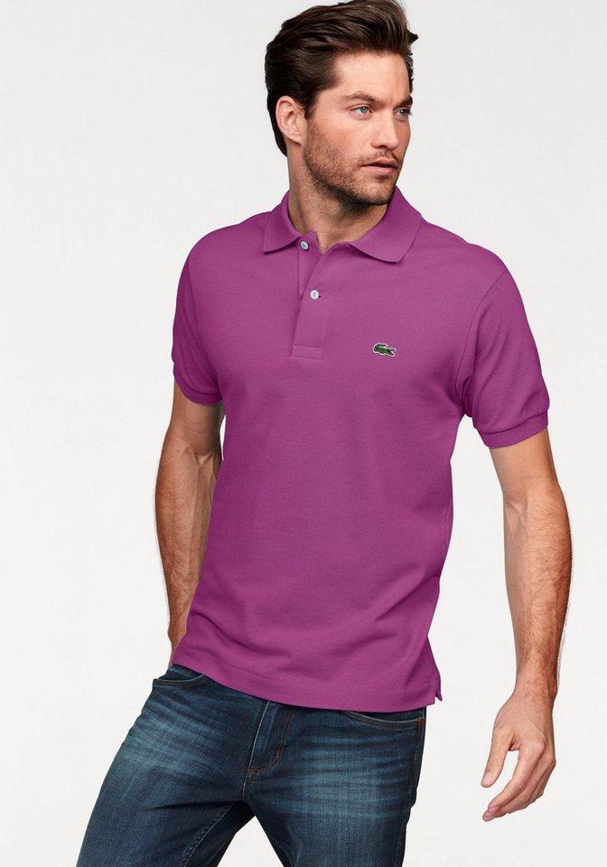 Lacoste Poloshirt Piqué in lila