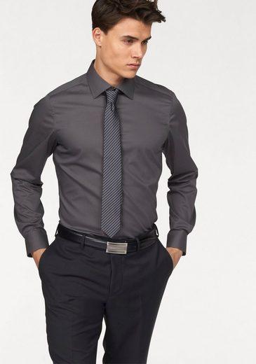 Bruno Banani Businesshemd »Slim-fit« Formbeständig durch Elastananteil