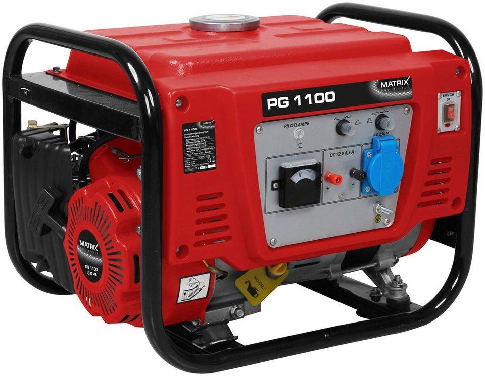 Stromgenerator »PG 1100« in rot