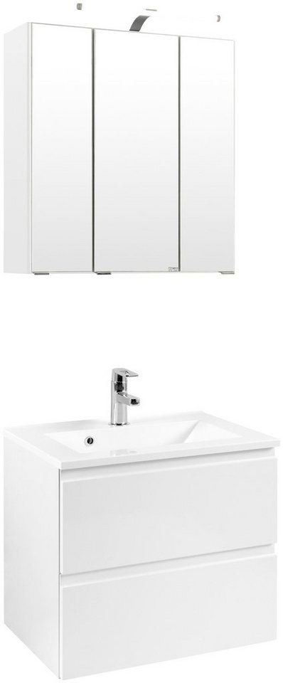Badmöbel-Set »Cardiff«, Breite 60 cm, 2-tlg. in weiß
