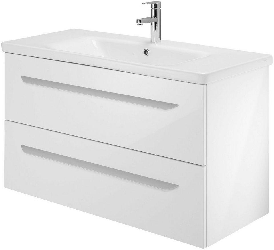 Fackelmann Waschtisch »Lavella«, Breite 100 cm in weiß