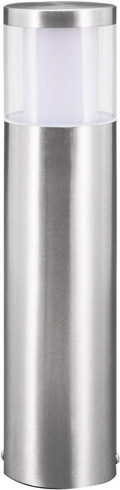 Eglo LED Außenleuchte, 1 flg., Stehleuchte, »Basalgo« in Edelstahl/Kunststoff