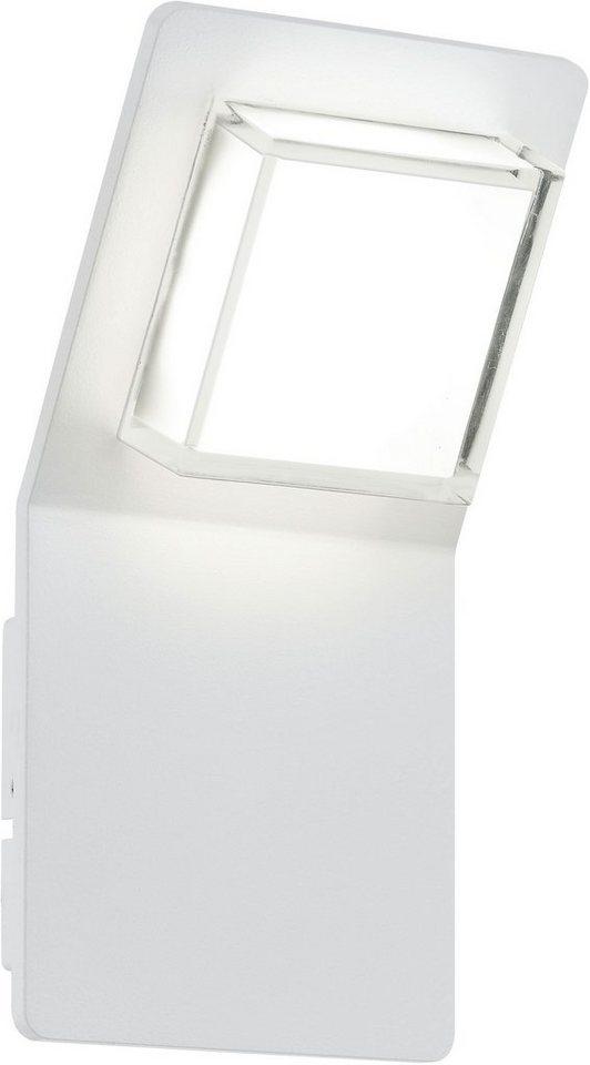 Eglo LED Außenleuchte, 1 flg., Wandleuchte, »Pias« in Aluminium
