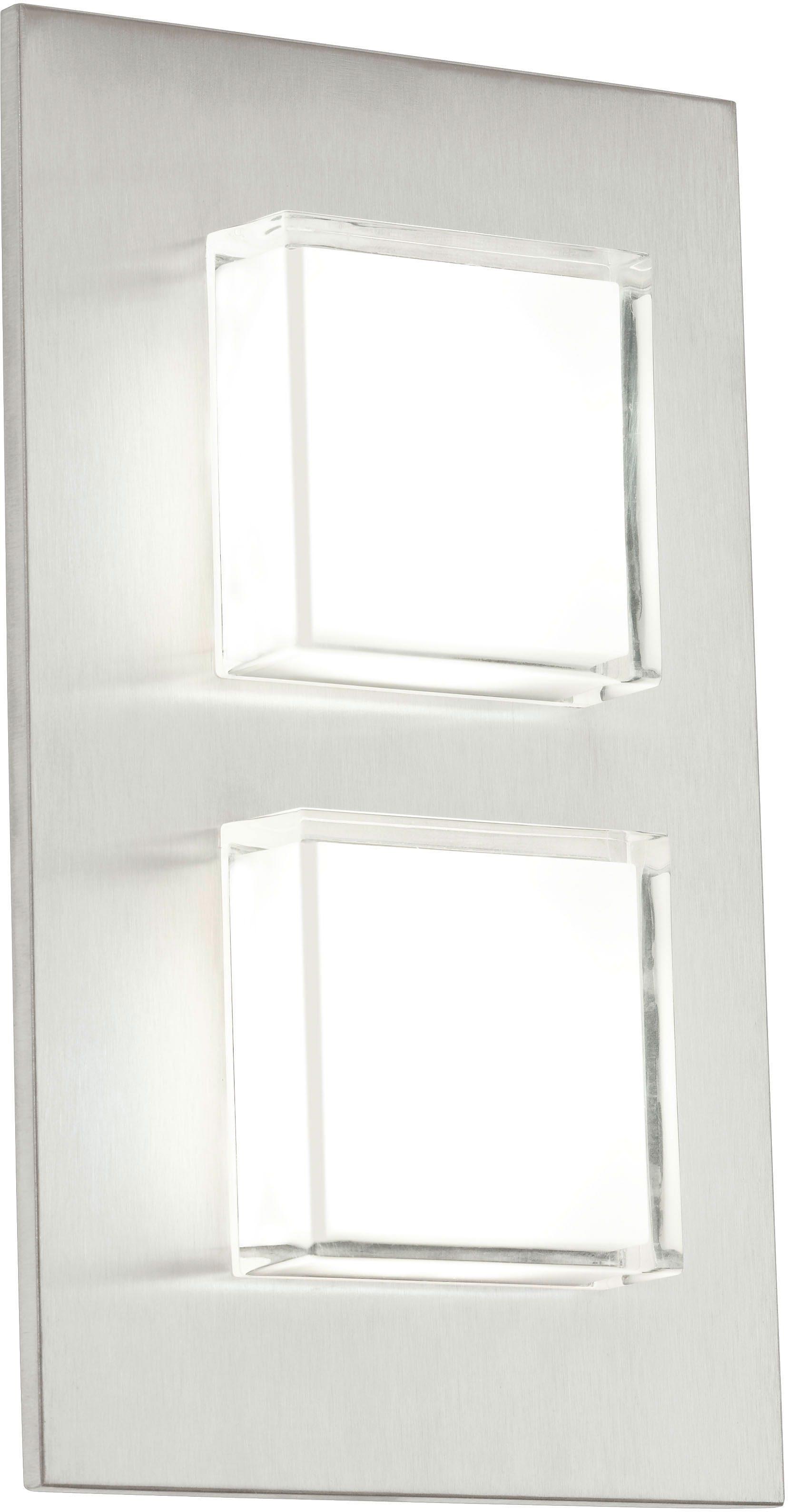 Eglo LED Außenleuchte, 2 flg., Wandleuchte, »Pias«