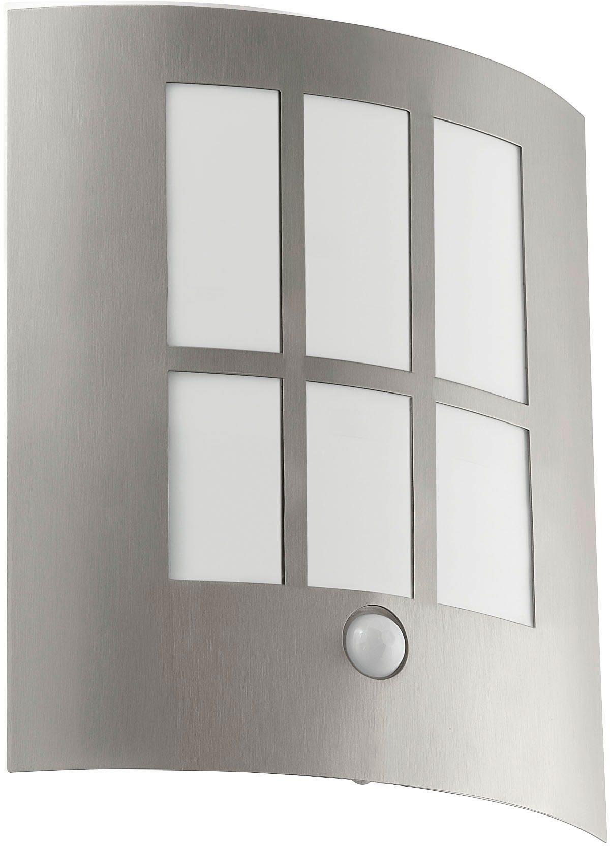 Eglo LED Außenleuchte, 1 flg., Wandleuchte mit Bewegungsmelder, »City LED«