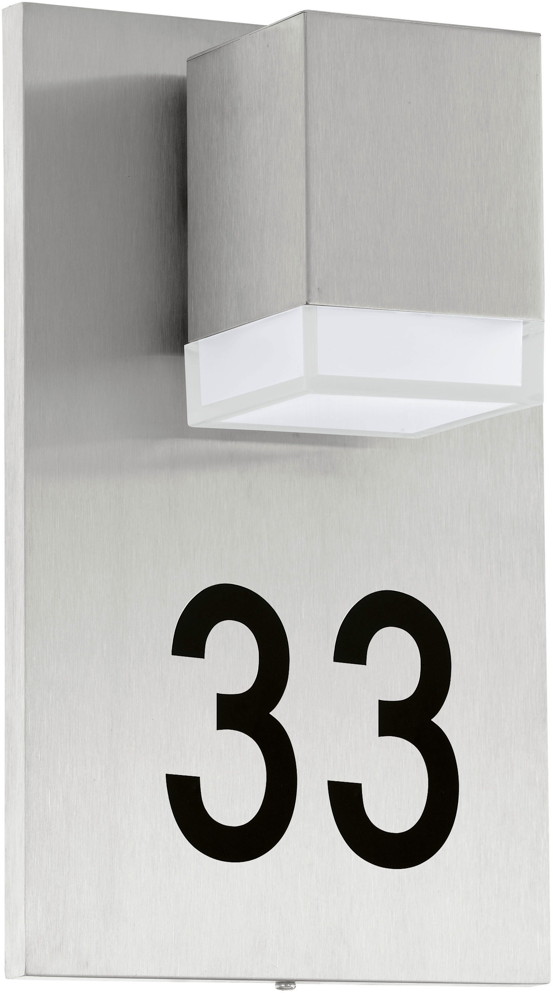 Eglo LED Außenleuchte, 1 flg., Wandleuchte, »Pardela1«
