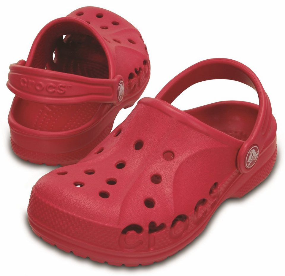 Crocs Sandalen »Baya Clogs Kids« in rot
