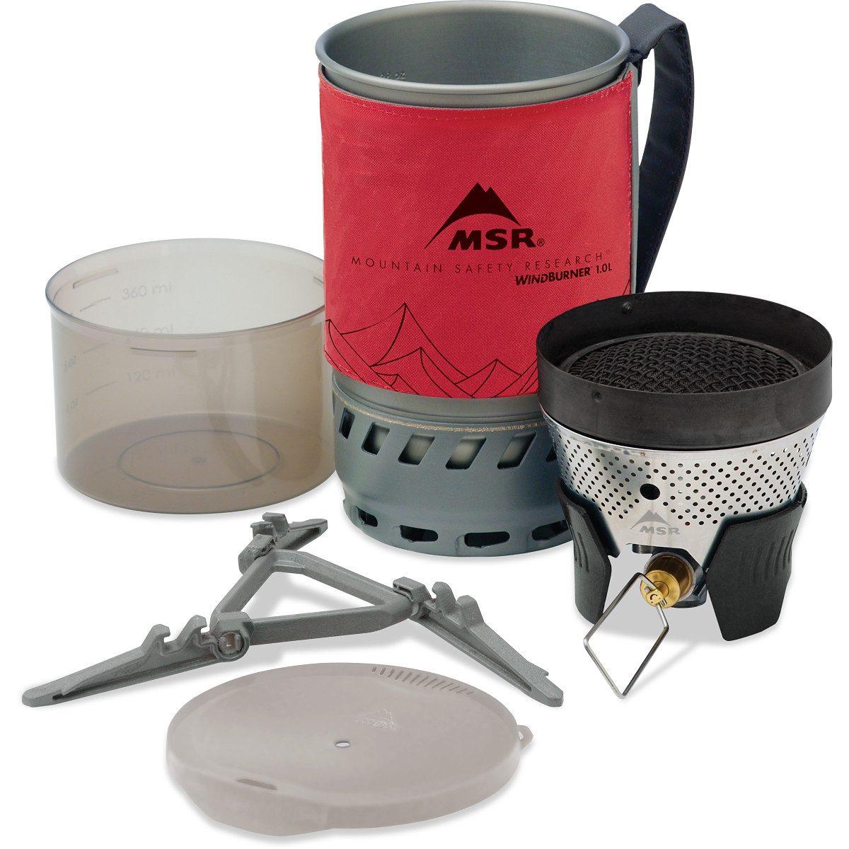 MSR Camping-Kocher »WindBurner Stove System 1,0L«