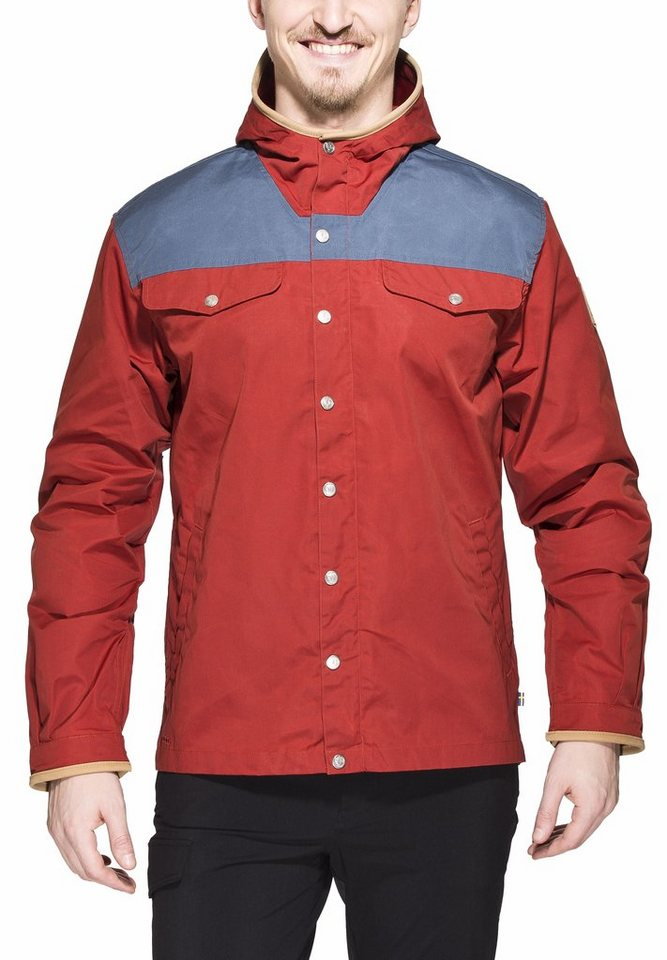 Fjällräven Outdoorjacke »Greenland No. 1 Jacket Men Special Edition« in rot