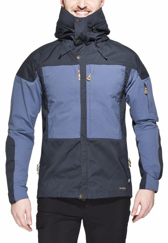 Fjällräven Outdoorjacke »Keb Jacket Men« in blau