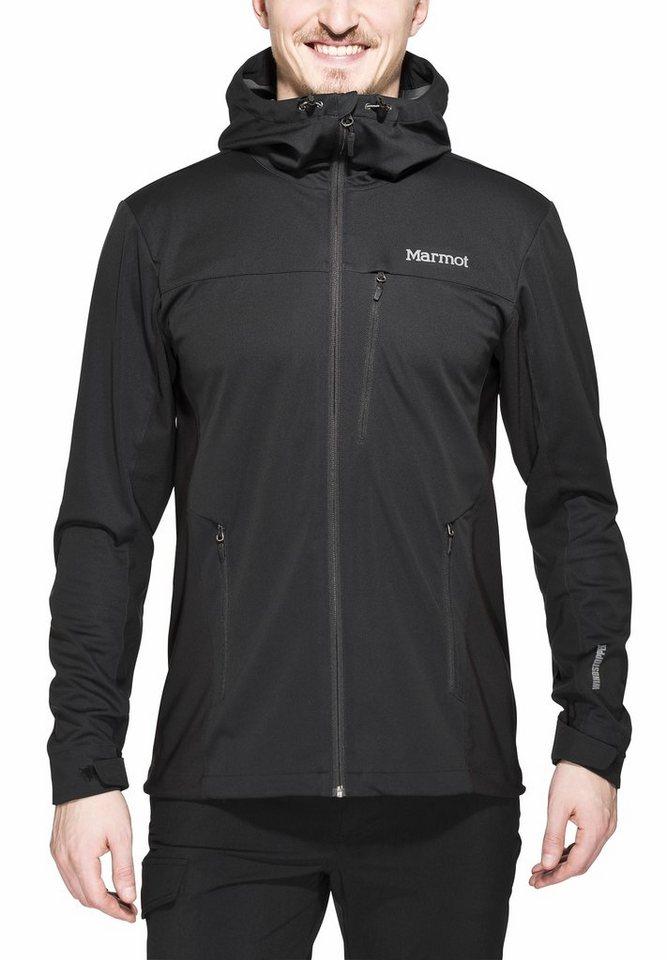 Marmot Softshelljacke »ROM Jacket Men« in schwarz