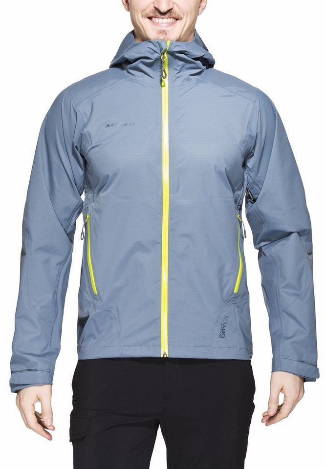 Mammut Regenjacke »Mellow Jacket Men« in blau