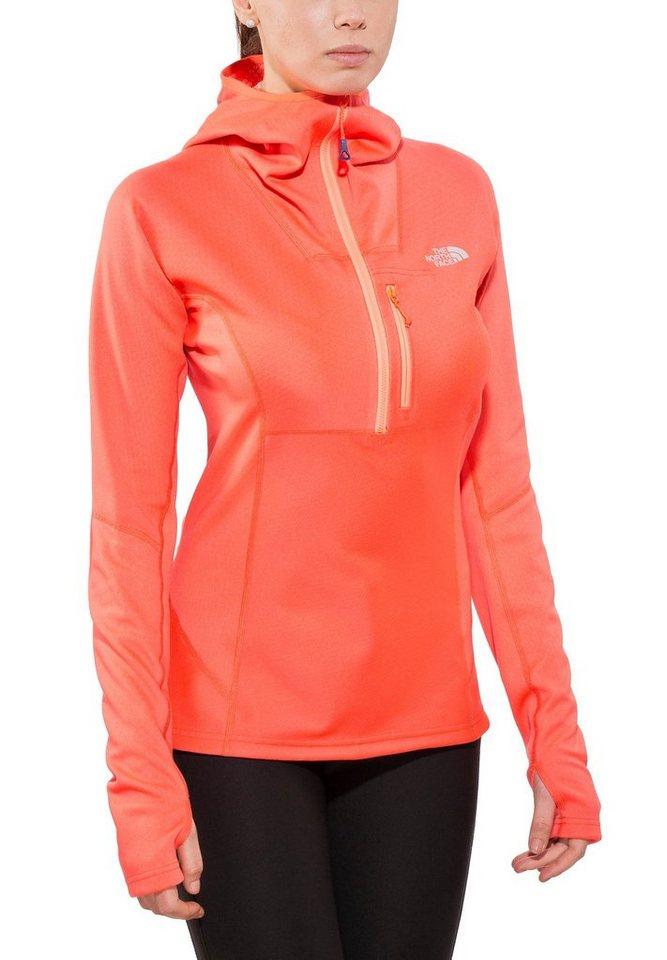 The North Face Pullover »FuseForm Dolomiti 1/4 Zip Hoodie Women« in orange