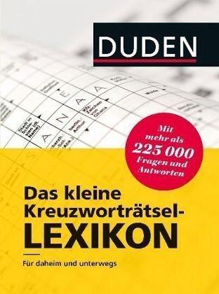 Gebundenes Buch »Duden - Das kleine Kreuzworträtsel-Lexikon«