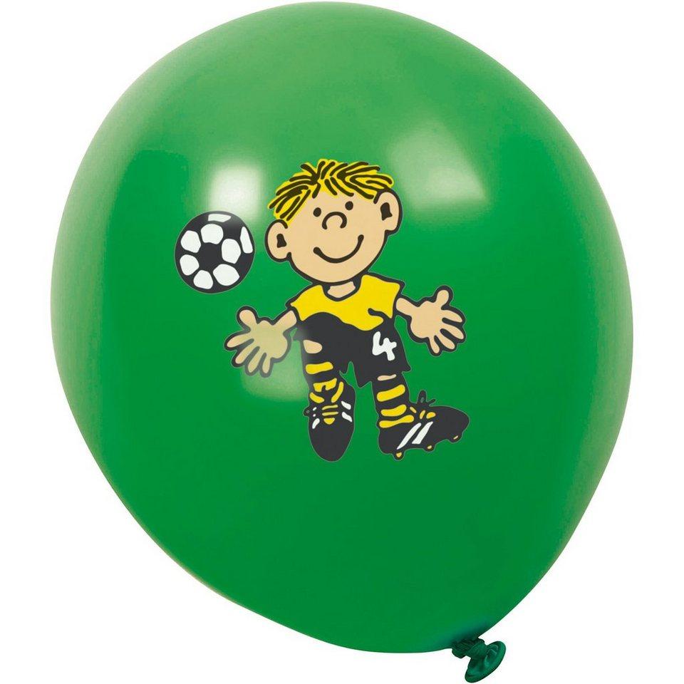 Lutz Mauder Verlag Luftballons Fußballer Fritz Flanke, 8 St.