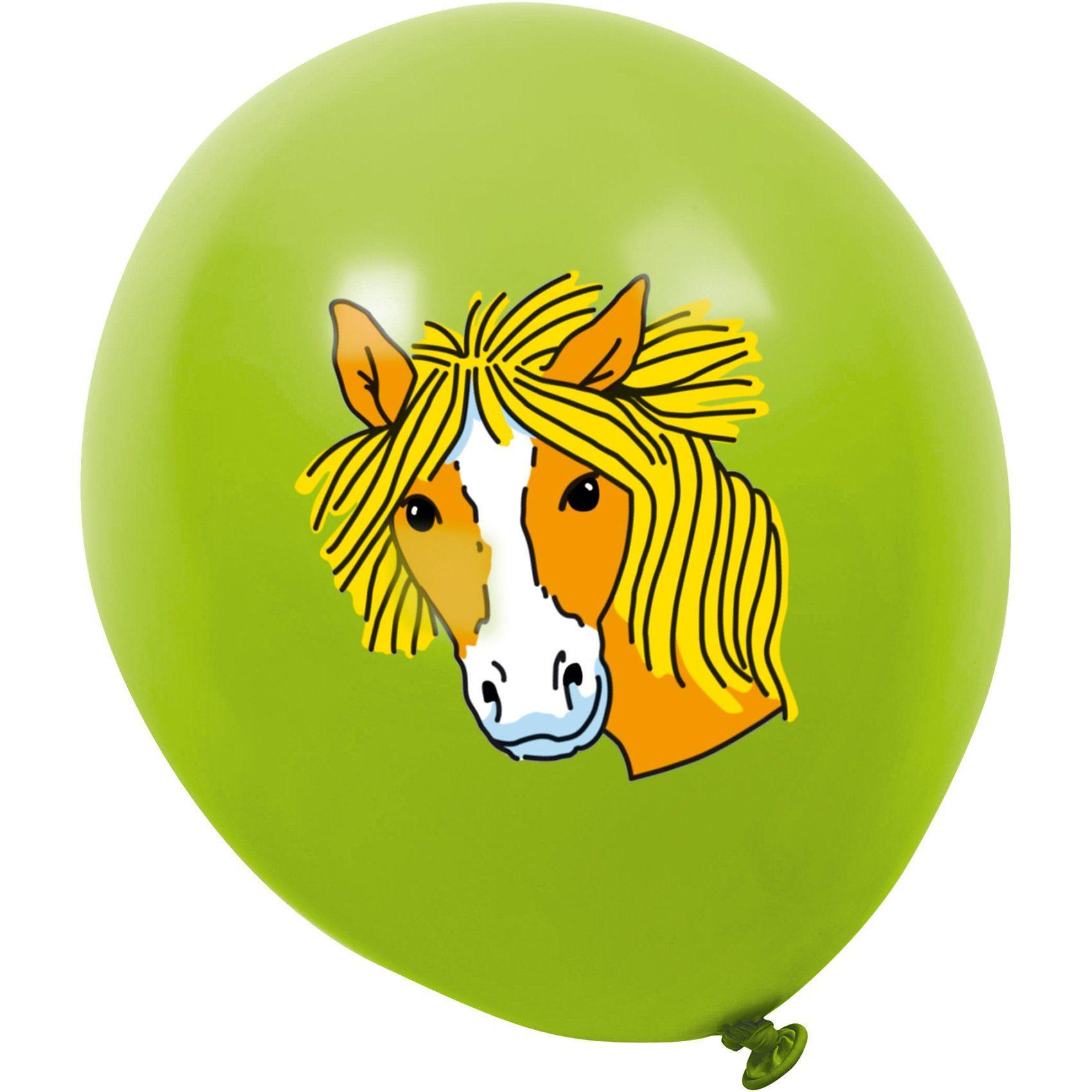 Lutz Mauder Verlag Luftballons Pferd Mein Ponyhof, 8 St.