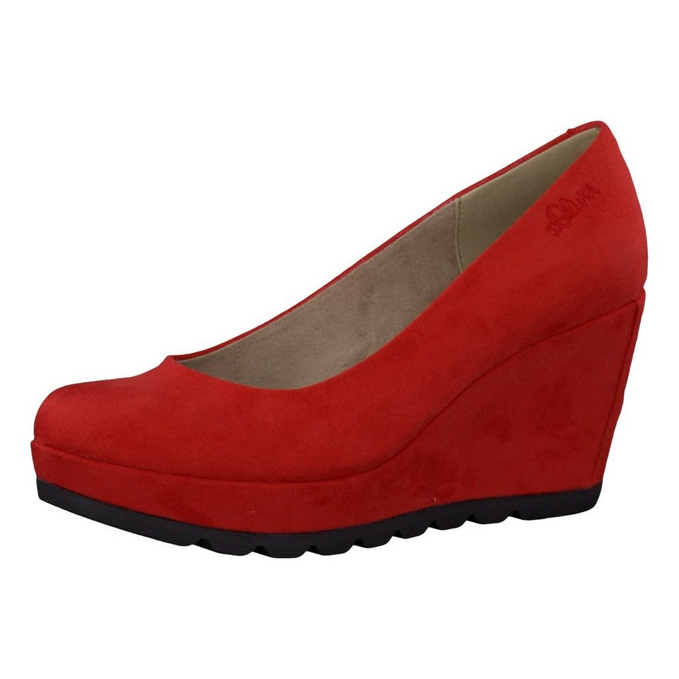 s.Oliver Lorah Pumps in rot