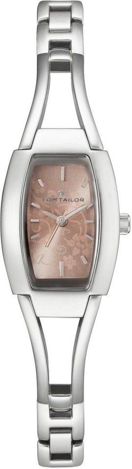 Tom Tailor Armbanduhr, »5401208« in silberfarben-rosé