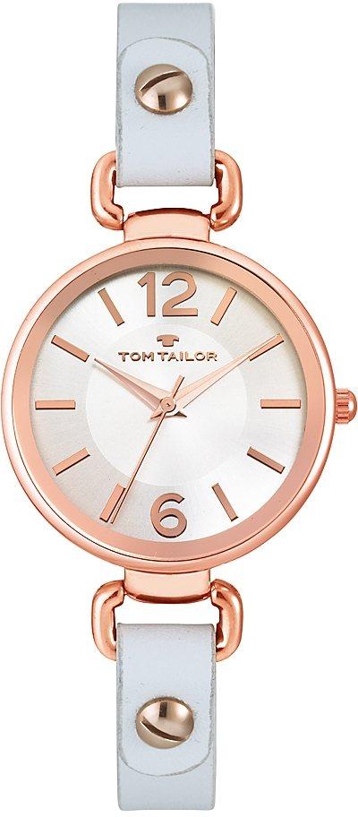 Tom Tailor Quarzuhr »5413002« in weiß