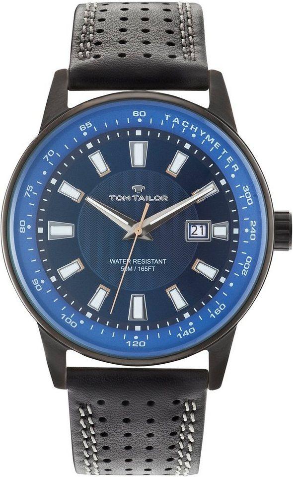 Tom Tailor Armbanduhr, »5416803« in schwarz