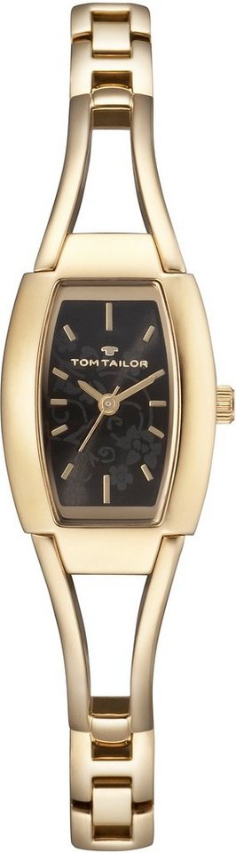 Tom Tailor Quarzuhr »5412803« in goldfarben